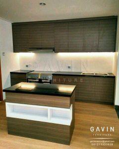 contoh kitchen set minimalis bentuk letter i