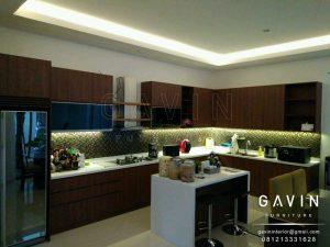 harga kitchen set minimalis hpl per meter
