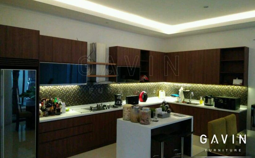 Informasi harga kitchen set minimalis 2017 terbaru for Harga kitchen set aluminium per meter