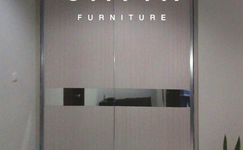 jual lemari pakaian sliding model minimalis