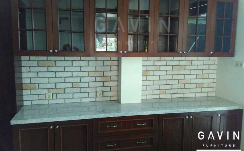 Kitchen Set Dapur Bersih Dan Pantry Untuk Makanan Siap Saji
