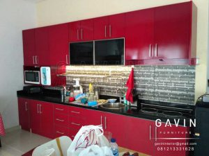 kitchen set finishing duco harga per meter murah